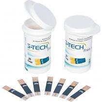 Tiras para Teste de Glicose com 50 Unidades G-Tech Free -