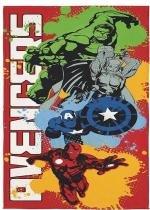 Toalha Aveludada Avengers 70cm x 1,40m - Lepper - Lepper