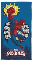 Toalha Aveludada Spider-Man 70cm x 1,40m - Lepper - Lepper