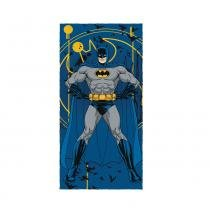 Toalha de Banho Felpuda Estampada Batman D 1 peça Lepper - 1 Peça - Lepper
