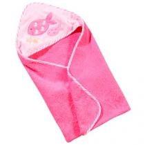 Toalha de Banho Infantil Aveludada Clingo - C0101 100% Algodão Rosa