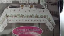 Toalha de mesa 1,45x1,40m morangos - Sultan