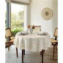 Toalha de Mesa Clean Athenas Redonda 160cm  Dohler - Eloah - Dohler