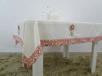 Toalha de mesa Flower 1,40mtx1,40mt quadrada - Flor d liza