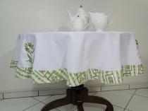 Toalha de mesa Flower 1,50mt redonda - Flor d liza