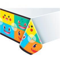Toalha de Mesa para Festa Pokémon Go Junco - Festabox