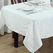 Toalha de mesa quadrada  1,60x1,60m limpa facil - Branyl