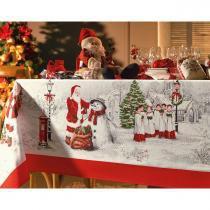 Toalha de Mesa Quadrado 78x78cm Natal Celebration Karsten - Karsten