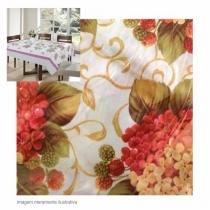 Toalha de Mesa Retangular 1,40x1,80m 100 Poliéster E Floral Yins Home -