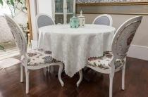 Toalha de mesa - Retangular - Jade Perola - 170 cm x 270 cm - Argivai