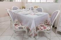 Toalha de mesa - Retangular - Jardim - 270 cm x 170 cm - Argivai