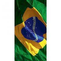 Toalha de Praia Buettner Veludo Estampado Reativo Turismo  Bandeira 0,70cm x 1,50cm Buettner