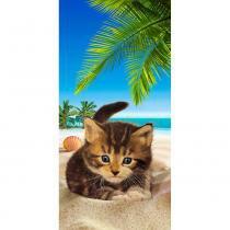 Toalha de Praia Resort Veludo Caton The Beach - Bouton - Bouton