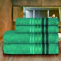 Toalha Dynamo Rosto 50x80 Verde Escuro Camesa - 50x80 - Camesa