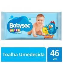 Toalha Umedecida Babysec Galinha Pintadinha 50 Unidades -