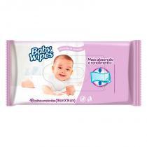 Toalha Umedecida Huggies Baby Wipes Lavanda Com 48 Unidades - Turma da mônica