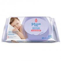 Toalha Umedecida Johnsons Baby Hora Sono 48 Unidades - Johnsons