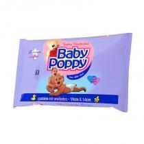 Toalha Umedecida Premium Baby Poppy Com 60 Unidades -