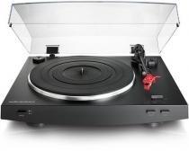 Toca Discos Audio Technica AT-LP3BK Preto, Automático, Estéreo, Acionado por Correia -