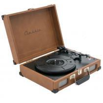 Toca-Discos Vinil Retro Tennessee Tan 40.260 - Classic -
