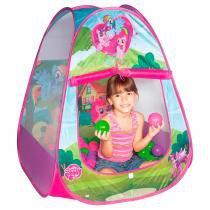 Toca Infantil My Little Pony Casinha Roxa e Rosa Braskit 33255