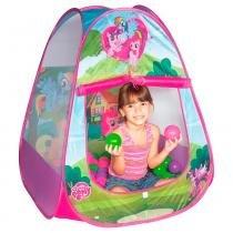Toca Infantil My Little Pony Casinha Roxa e Rosa Braskit 33255 - Braskit