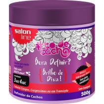 TodeCacho Bora Definir Brilho de Diva Salon Line Definidor de Cachos 500g - Salon line professional