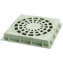 Top caixa grelha 300 mm com base quadrada amanco - Amanco