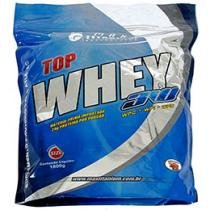 Top Whey 3W 1,8 kg Refil Banana - Max Titanium