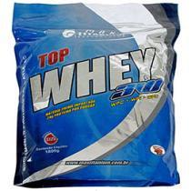 Top Whey 3W 1,8 kg Refil Capuccino - Max Titanium