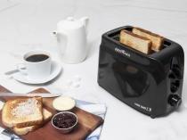 Torradeira Britânia Large Toast - 6 Níveis de Tostagem e Bandeja de Resíduos