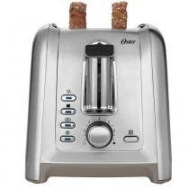 Torradeira com Capacidade para 2 Fatias Gourmet em Aço DFL2 Oster - 110V - Oster