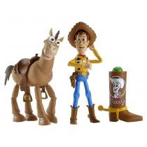 Toy Story 3 Woody e Bala no Alvo - Mattel - Toy Story
