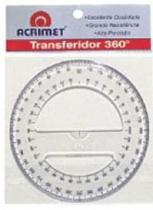 Transferidor Acrilico 360 Graus 552 Acrimet - 952919