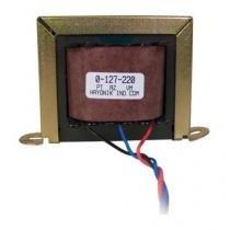 Transformador 18/1 18+18VAC 127/220VAC 400MA Hayonik -