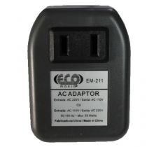 Transformador Adaptador bivolt 110v-220v/220v-110v 50 watts Eco Mania EM211 - Eco Mania