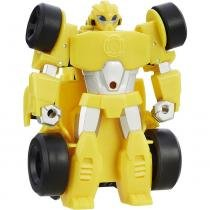 Transformers Rescue Bots PSH Racers Bumblebee Amarelo - Hasbro -