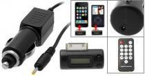 Transmissor FM iPhone 3G/2G e iPod C/ Carregador e Controle - Alba eletronicos