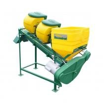 Tratador de sementes tecnotrat m40 cimisa - 2 caixas para líquidos - Cimisa