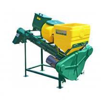 Tratador de sementes Tecnotrat M60 Cimisa - 1 caixa para líquidos e 1 caixa metálica para produtos turfosos -
