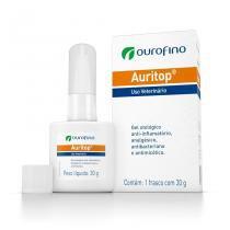 Tratamento Otológico Ouro Fino Auritop - 30 g - Ourofino