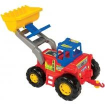 Trator Truck Infantil com Guincho e Pá Escavadeira 5001 - Magic Toys - Magic Toys