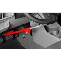 Trava de Segurança Auto Anti furto Volante e Pedal - Overvision