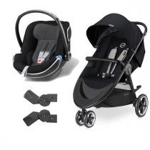 Travel System Agis M-Air3 Stardust Black + Idan Black - Cybex