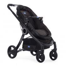 Travel System com Adaptador - Urban Plus Keyfit Night e Color Pack Plus - Sandshell - Chicco - Chicco