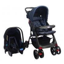 Travel System Concord Max 3 Posições Azul - Prime baby