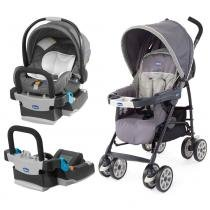 Travel System - Neuvo Graphite + Base Extra - Chicco - Chicco