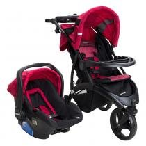 Travel System Off Road sem Base Cherry 0 a 15kg - Infanti