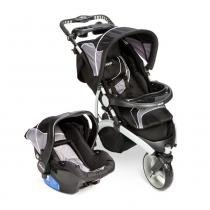 Travel System Off Road Sem Base Infanti Grafit - ÚNICO - Infanti