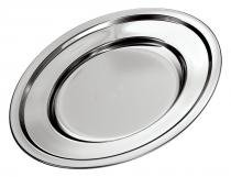 Travessa Oval Rasa 33 cm Euro Home Design Nobre Altamente Durável - Euro